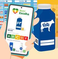 Carrefour inova e disponibiliza ferramenta intuitiva que permite escolhas de alimentos nutricionalmente mais equilibrados e baratos