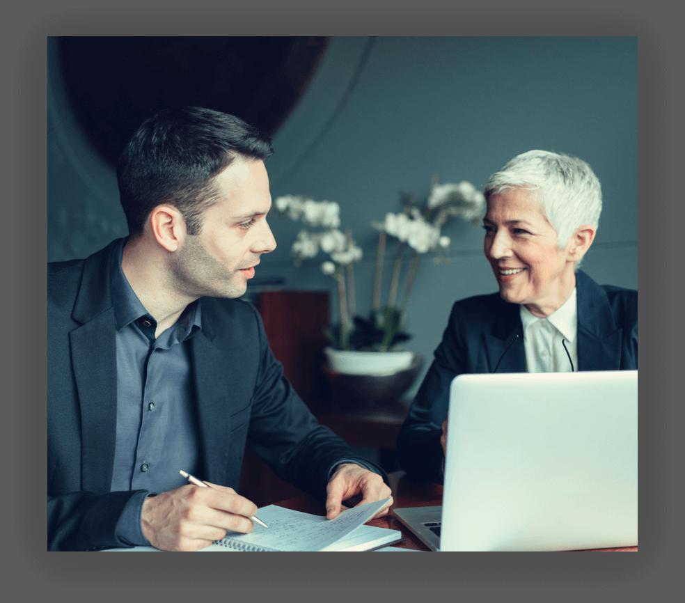 lawyers interacting image