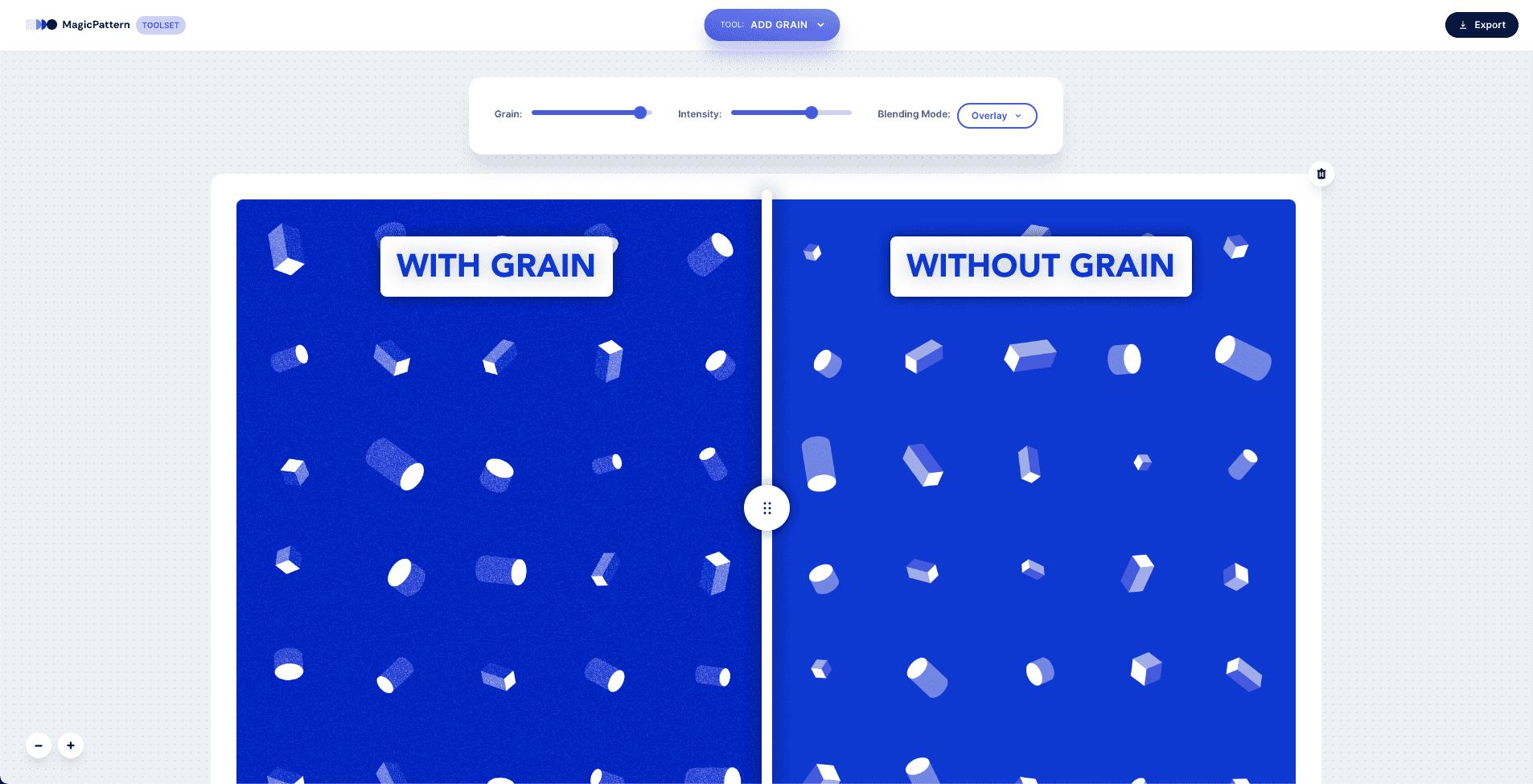 New Add Grain app