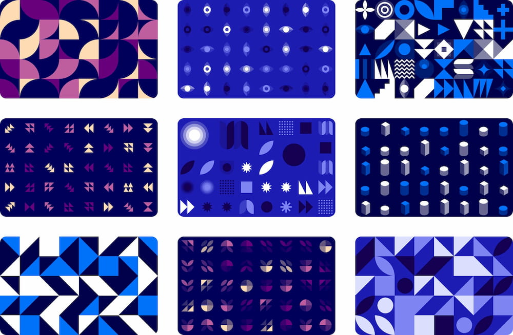 Possible ways to use MagicPattern graphcis in web design and marketing