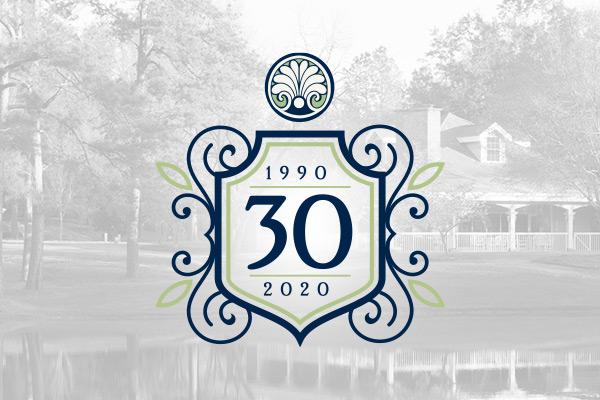 30 year celebration logo for Brandon Wilde