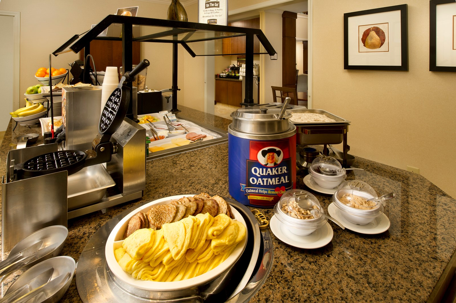Restaurants Near Staybridge Bwi Suites Airport Cold Breakfast Buffet Review Of Woodlands Restaurant