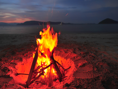 Bonfire on the Beach Package