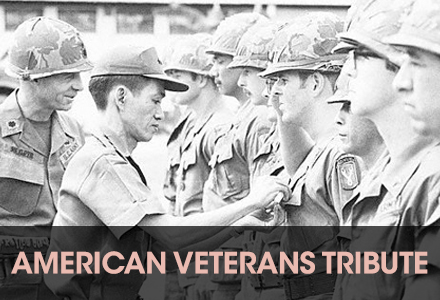 Tribute to American veterans