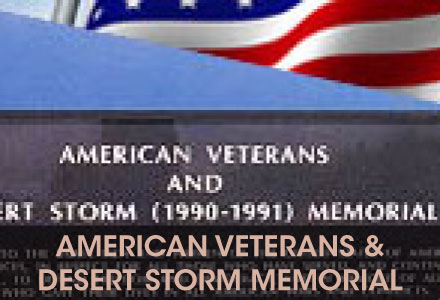 Americans Veterans' and Desert Storm Memorial