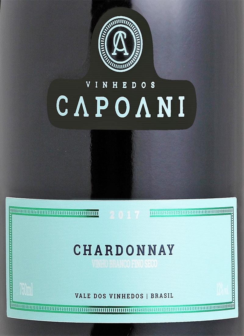 Vinho Branco Fino Seco CHARDONNAY CAPOANI 2017