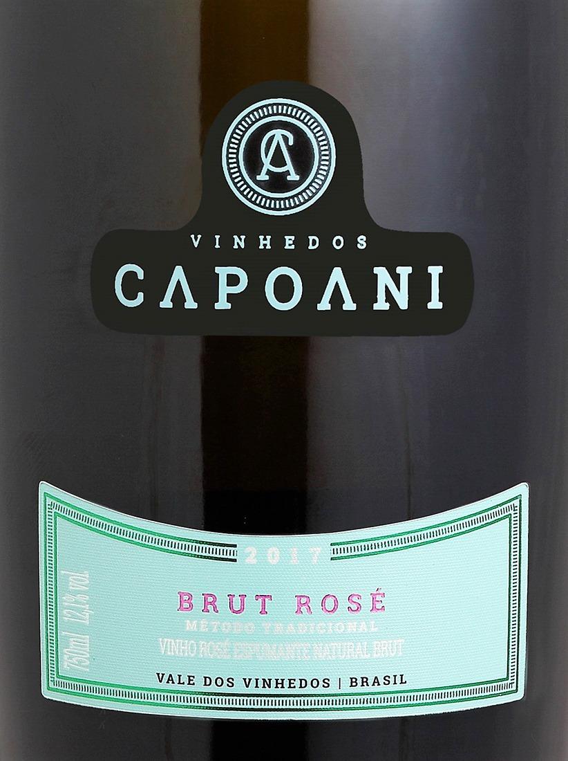 Vinho Espumante Rose BRUT CAPOANI 2017
