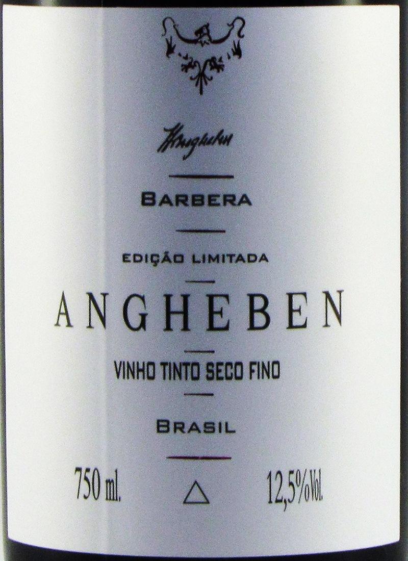 Vinho Branco Seco Fino BARBERA ANGHEBEN EDIÇÃO LIMITADA