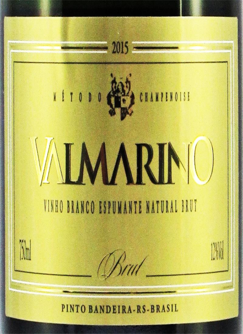 Vinho Espumante Branco BRUT VALMARINO 2015