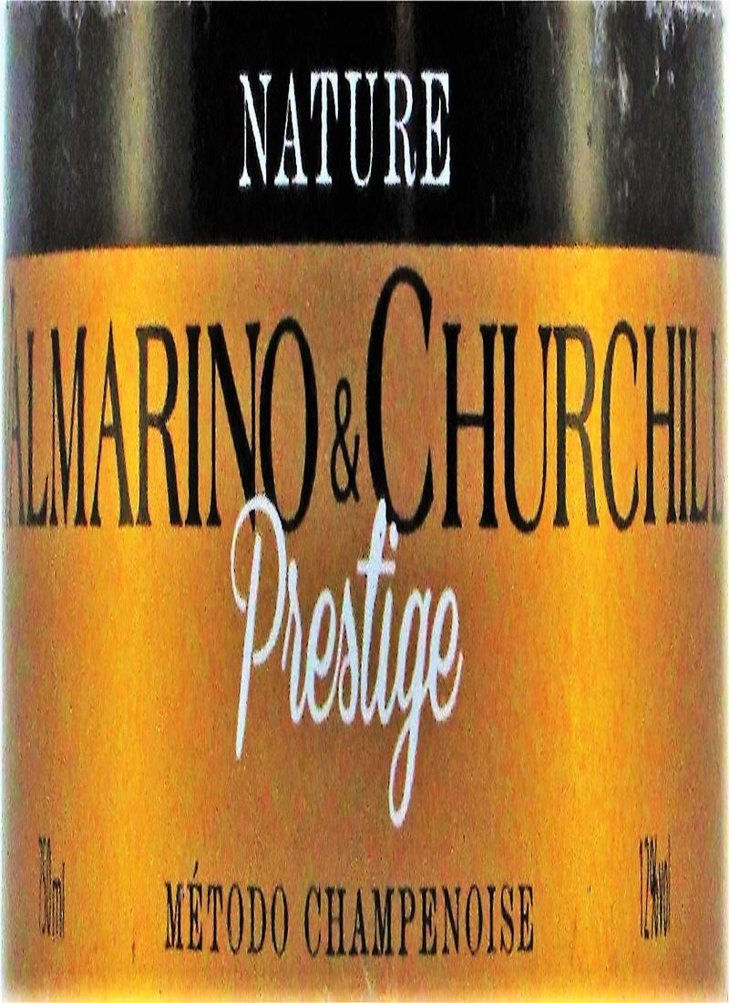 Vinho Espumante Branco NATURE VALMARINO & CHURCHILL PRESTIGE