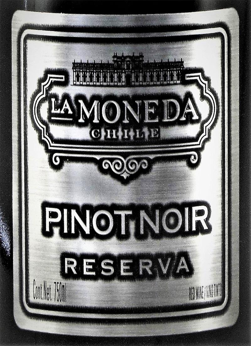 Vinho Tinto Seco Fino PINOT NOIR LA MONEDA RESERVA