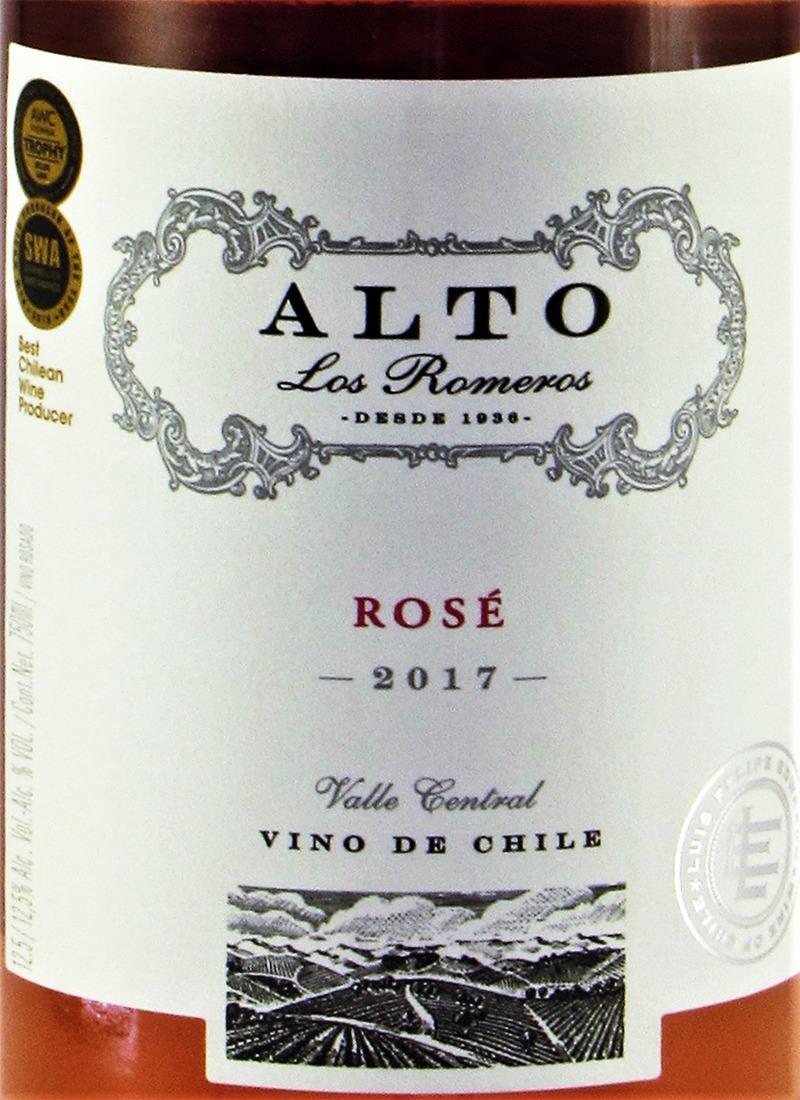 Vinho Rosé Seco Fino ALTO LOS ROMEROS