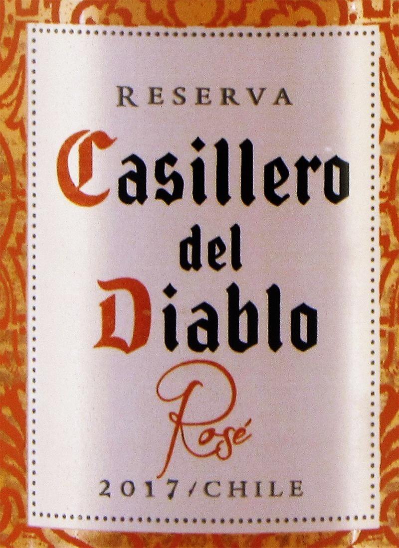 Vinho Rosé Fino CASILLERO DEL DIABLO RESERVA