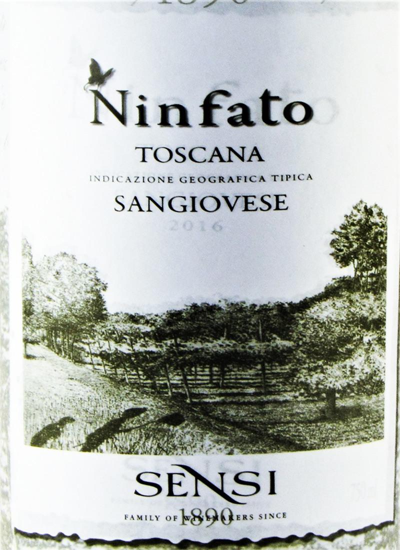 Vinho Tinto Seco Fino SANGIOVESE NINFATO TOSCANA
