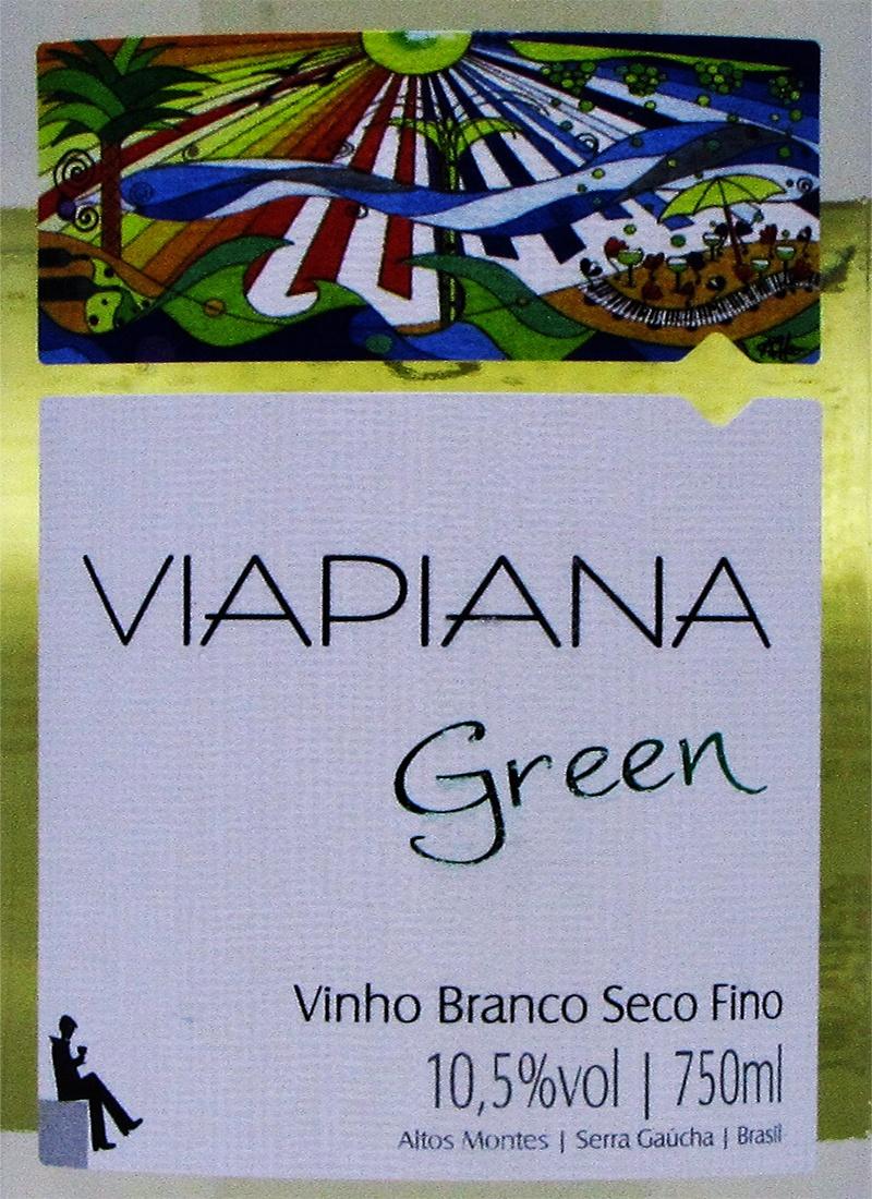 Vinho Branco Fino GREEN VIAPIANA