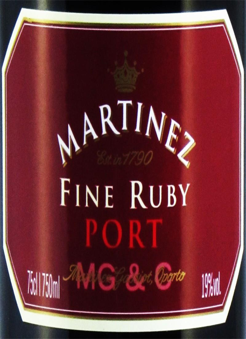 Vinho do Porto RUBY MARTINEZ