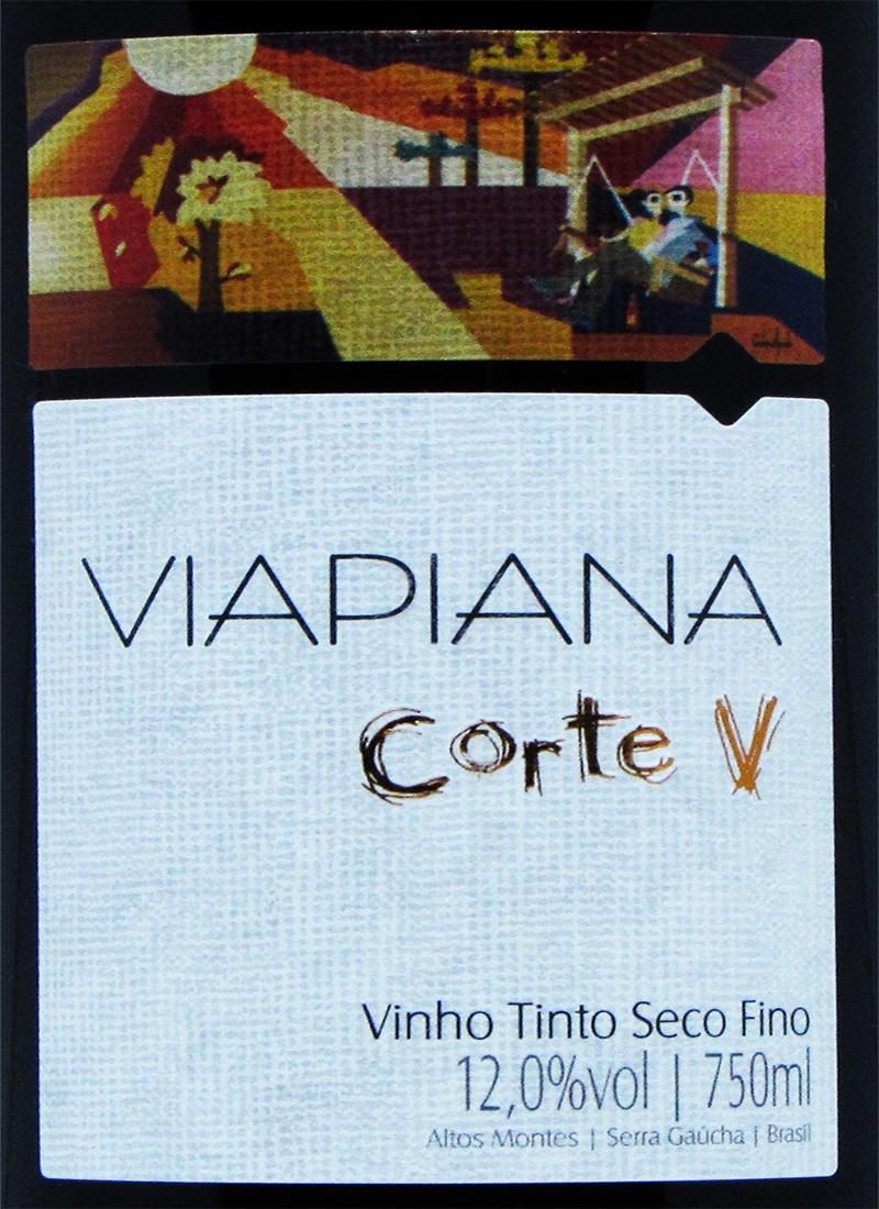 Vinho Tinto Fino CORTE V VIAPIANA