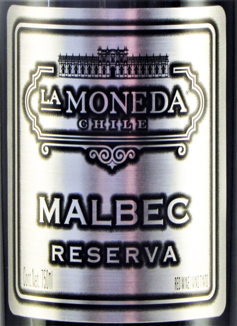 Vinho Tinto Seco Fino MALBEC LA MONEDA RESERVA