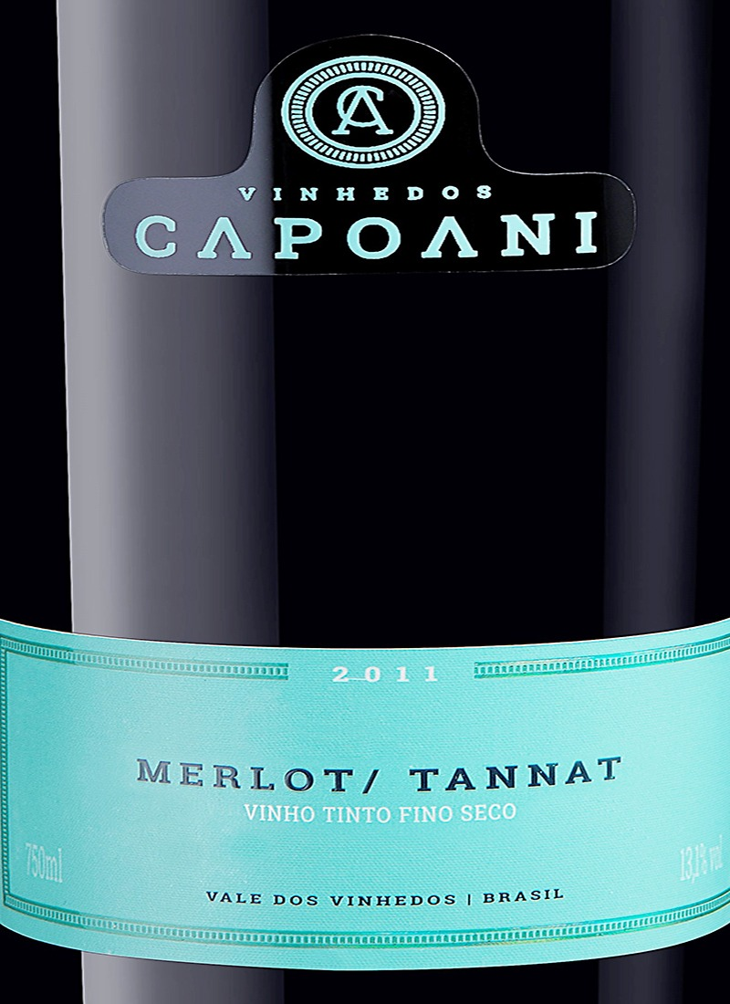 Vinho Tinto Fino Seco MERLOT / TANNAT CAPOANI 2013