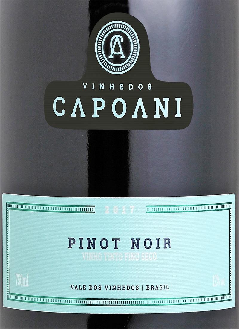 Vinho Tinto Fino Seco PINOT NOIR CAPOANI 2017