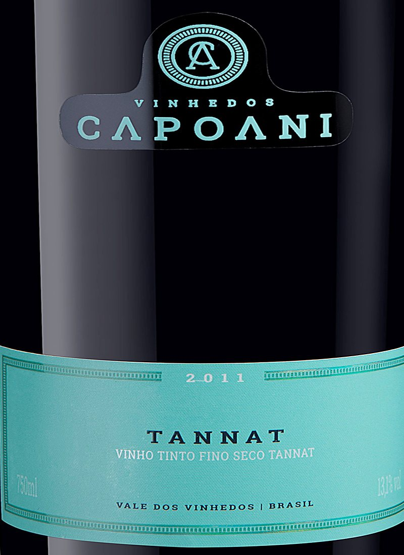 Vinho Tinto Fino Seco TANNAT CAPOANI 2011