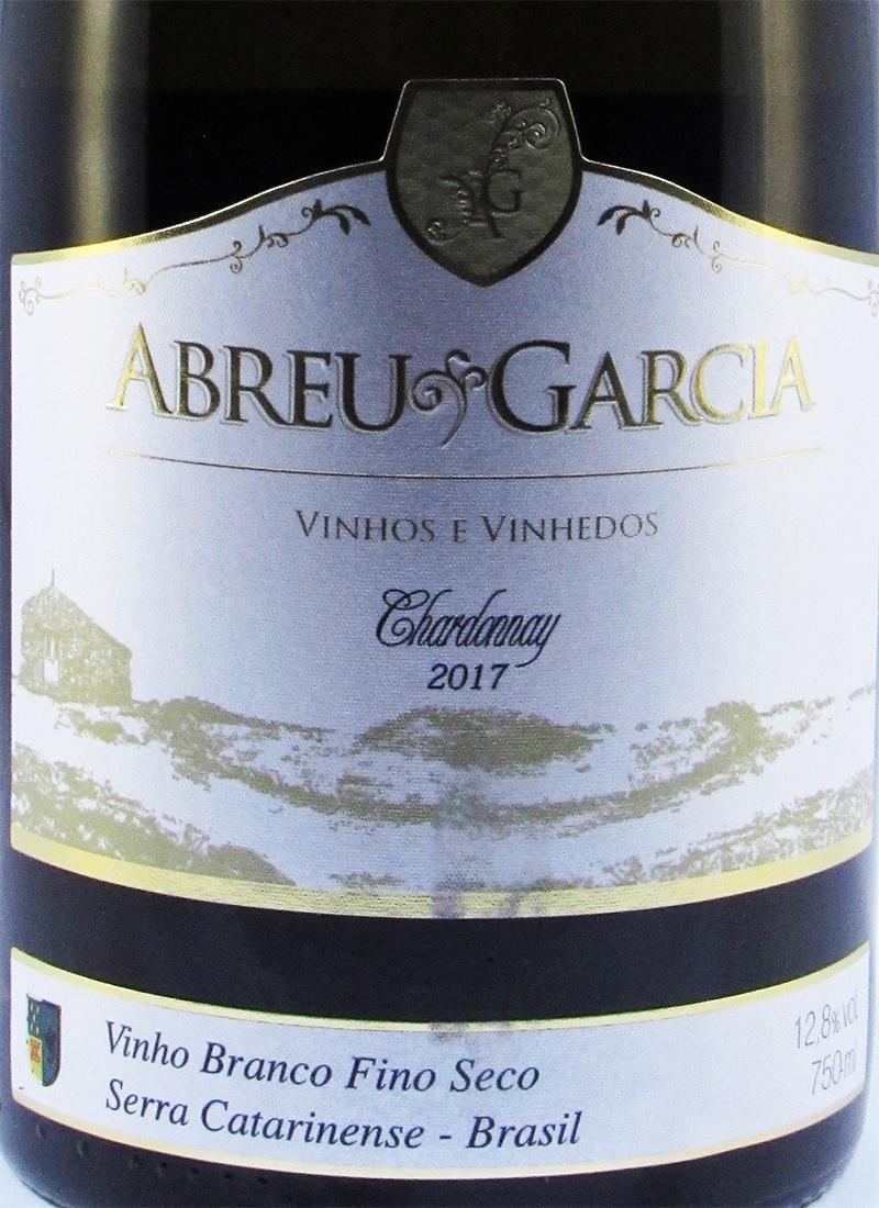 Vinho Branco Fino Seco CHARDONNAY ABREU GARCIA 2012