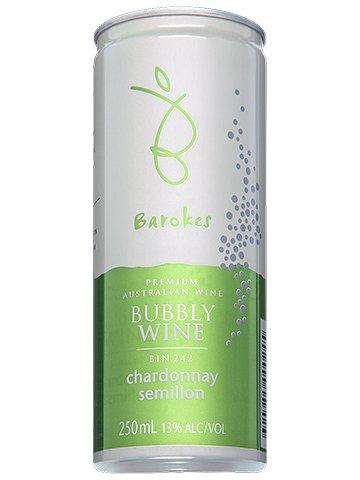 Vinho Branco Frisante em Lata Australiano Barokes