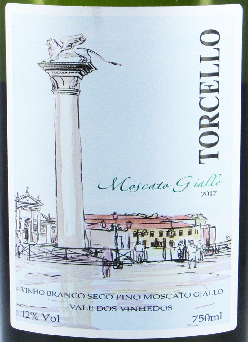 Vinho Branco Fino Seco MOSCATO GIALLO 2017 TORCELLO