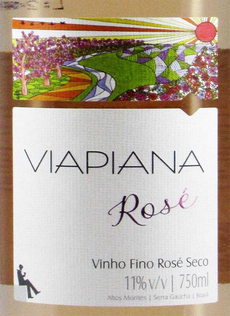 Vinho Fino Seco ROSÉ VIAPIANA