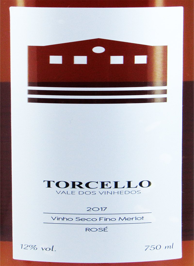 Vinho Rosé Seco Fino MERLOT 2017 TORCELLO