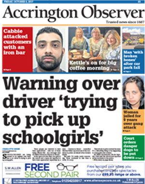Accrington Observer: Accrington's local newspaper