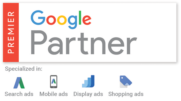 Proud to be a Premier Google Partner
