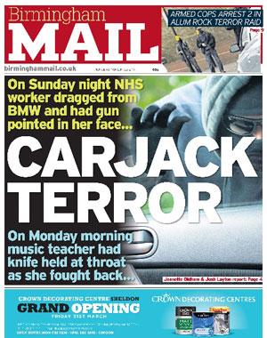 Birmingham Mail: Birmingham's local newspaper