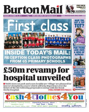 Burton Mail: Burton upon Trent's local newspaper