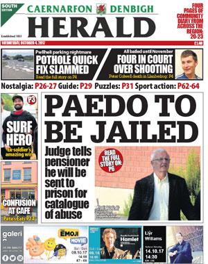 Caernarfon & Denbigh Herald : Caernarfon's local newspaper