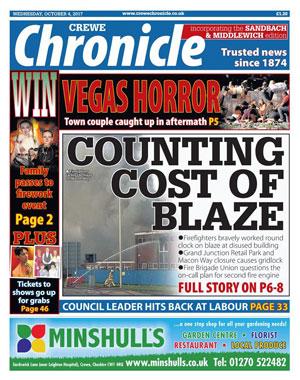 Crewe Chronicle: Crewe's local newspaper