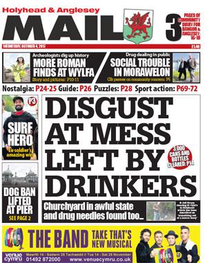 Holyhead & Bangor Mail: Holyhead's local newspaper
