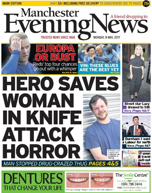Manchester Evening News: Manchester's local newspaper