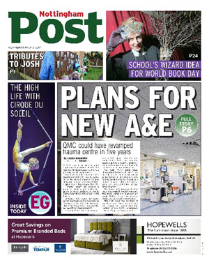 Nottingham Post: Nottingham's local newspaper