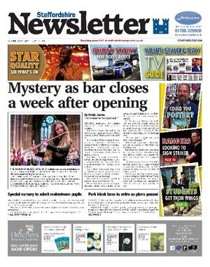Staffordshire Newsletter: Stafford's local newspaper