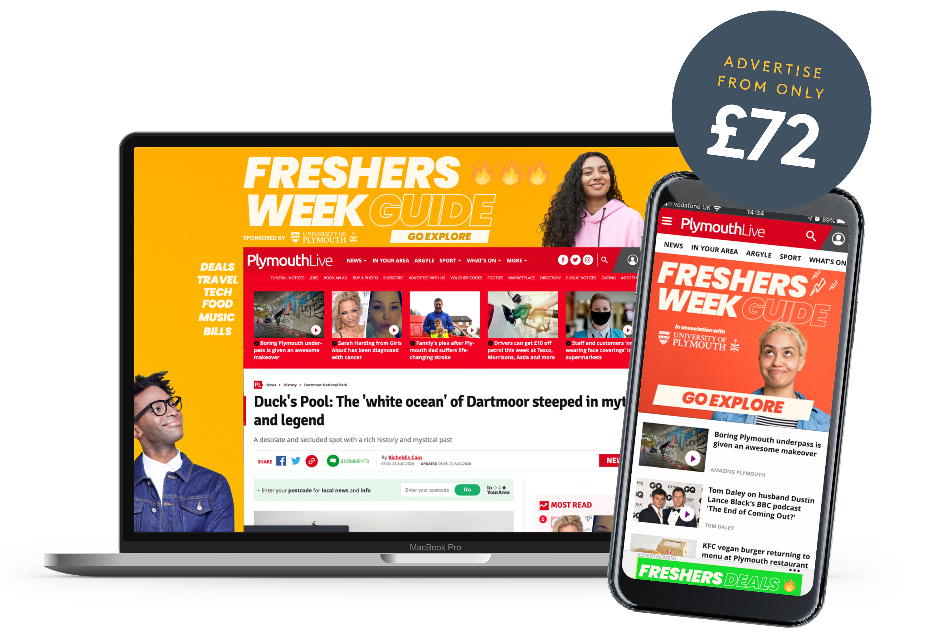 Advertise From £72