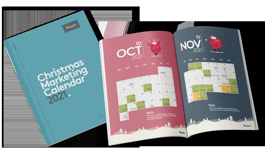 Christmas Marketing Calendar Preview