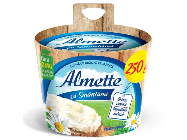 Crema de branza proaspata cu smantana Almette 250g