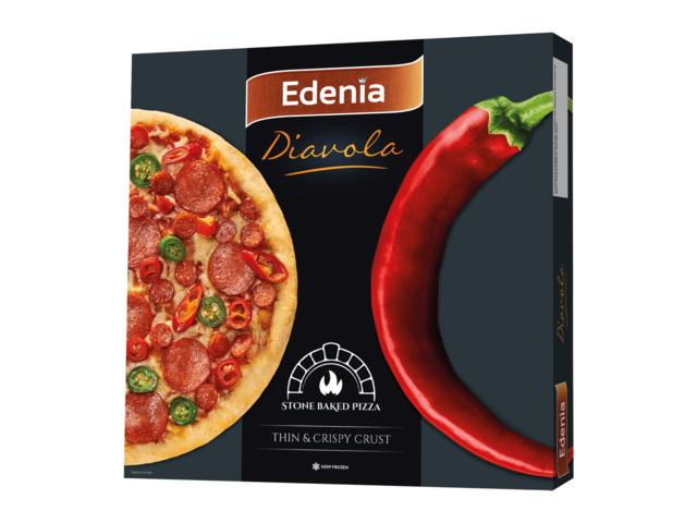 Pizza diavola 325 g Edenia