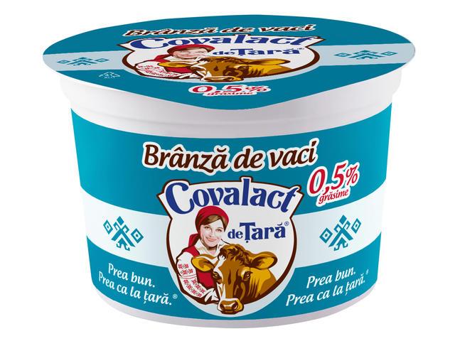 Branza slaba proaspata de vaca Covalact de Tara 200 g