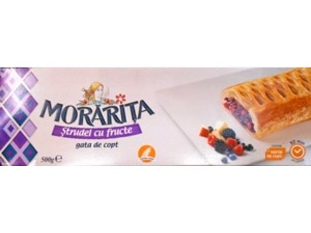 Strudel fructe 500 g Morarita