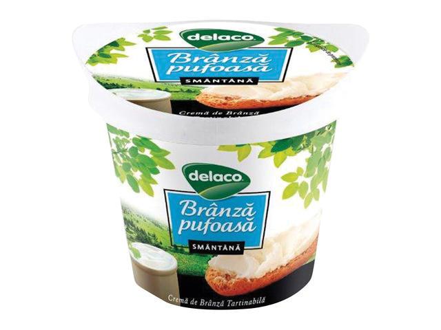 Crema de branza cu smantana Delaco 140 g