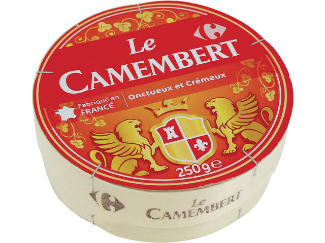 Camembert 250 g Carrefour