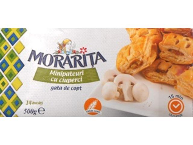 Minipateuri ciuperci 500 g Morarita