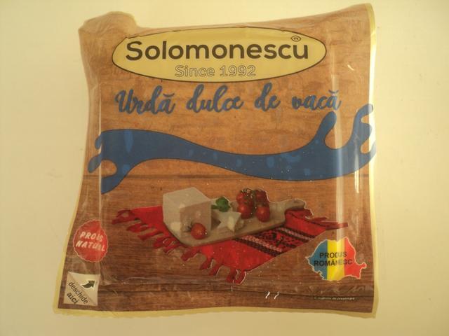 Urda dulce 450 g Solomonescu